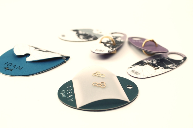 Jewelry branding and packaging