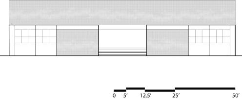 DPS Kindergarten School front elevation with pattern