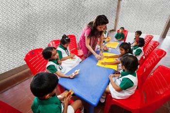 DPS Kindergarten School rendering