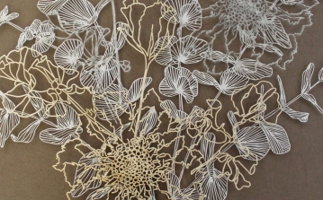 Laser cut wall art