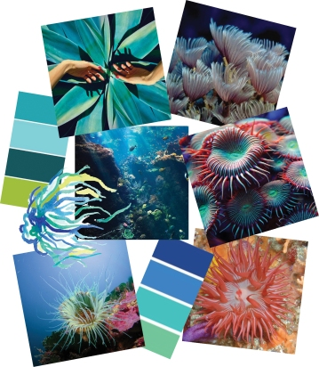 Anemone Abyss - Mood board