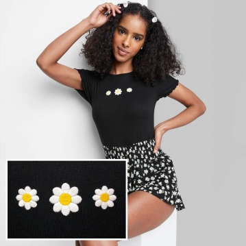 Daisy Embroidery - Created in Illustrator - Spring '21 Best Selling Graphic